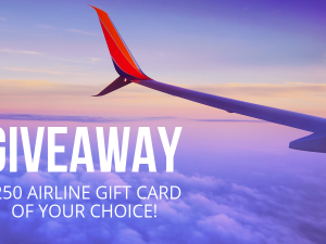 You Could Win a $250 Airline Gift Card