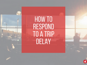 How to Respond to a Trip Delay