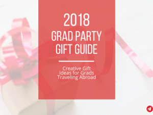 2018 Grad Party Gift Guide: For the Travel-Bound Grad